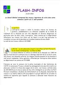 Flash Info juillet 2014