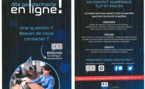 Ma gendarmerie en ligne ! Brigade numérique 7j/7 et 24h/24.