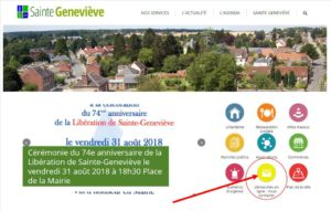 Nouveau sur le Site Internet de la commune ! Démarches en ligne et nous contacter en un clic !