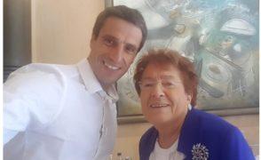 Madame le Maire et M. Tony Estanguet, Président du Comité d'organisation des Jeux Olympiques 2024,