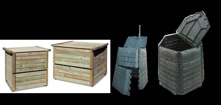 La Communauté de Communes Thelloise propose à la vente, différents modèles de composteurs en bois ou en plastique à prix réduits (dans la limite des stocks disponibles).