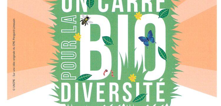 Le CPIE devient officiellement relais pour le Programme UNCPIE «Un carré pour la biodiversité».